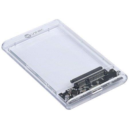 CASE EXTERNO PARA HD 2.5 USB 3.0 ACRILICO - CH250AA