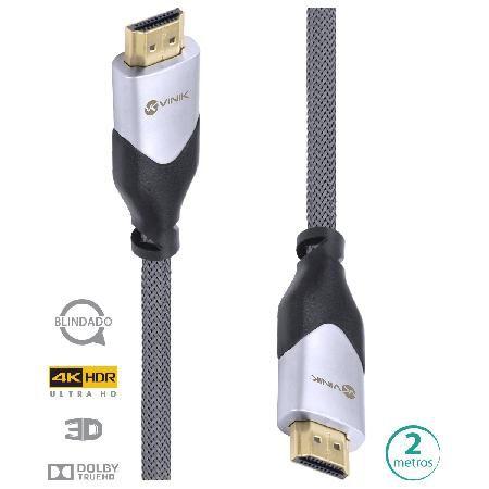 CABO HDMI 2.0 4K BLINDADO 2M H20B-2