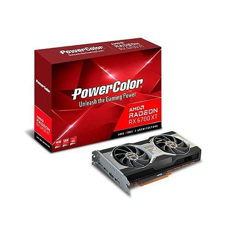 GPU AMD RX6700XT 12GB D6 POWER COLOR 12GBD6-M3DH 1A1-G00349100G