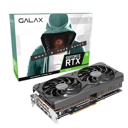 GPU NV RTX3070 8GB 1-CLICK OC GDDR6 256B GALAX 37NSL6MD2KOC*