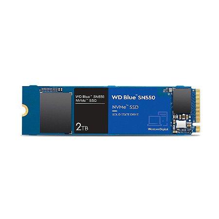 SSD M2 2280 WD SN550 BLUE 500GB NVME WDS500G2B0C