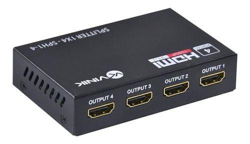SPLITTER HDMI 1 ENT 4 SAIDAS SPH1-4