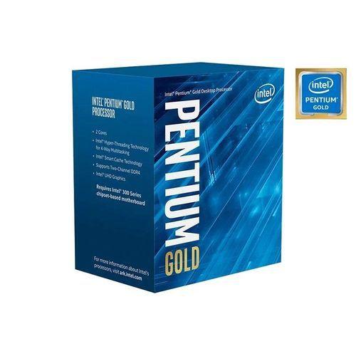 PROCESSADOR PENTIUM GOLD G6400 4,00GHZ 4MB CACHE COM VIDEO LGA 1200 BX80701G6400