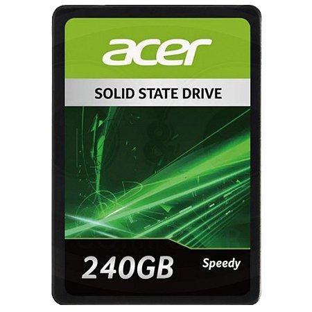 Ssd Acer Speedy, 240gb Sata 3 - GPSRG1100F