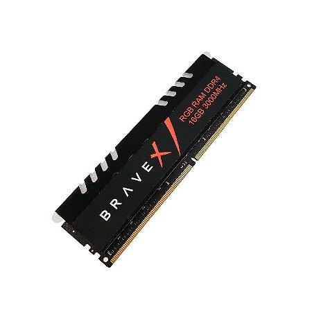 Memória Ram Winmemory Bravex 16gb Ddr4 3000Mhz Cl17 -BAS84U6DW