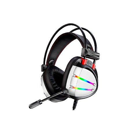 HEADSET GAMER 7.1 DIGITAL SURROUND AR70 PRATA/RGB K-MEX