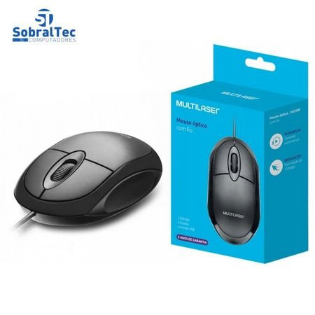 MOUSE MULTILASER MO300 OPT. 1200DPI