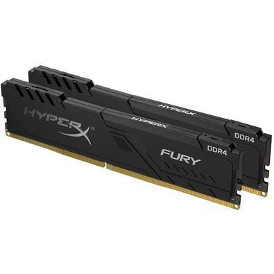 ***KIT 2x8gb DDR4 2400mhz HyperX Fury Black