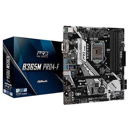 PLACA MAE ASROCK B365M PRO4-F INTEL LGA1151 MATX DDR4