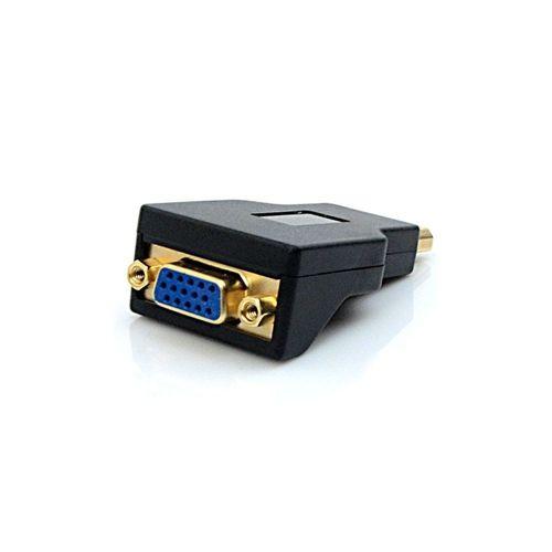 ADAPTADOR VGA F X DISPLAYPORT M ADP-101BK PLUS CABLE