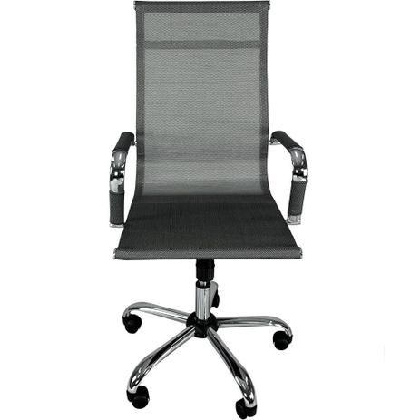 Cadeira Escritorio Diretor Giratoria Premium Prata(MOCH-DIRPRM/SL)