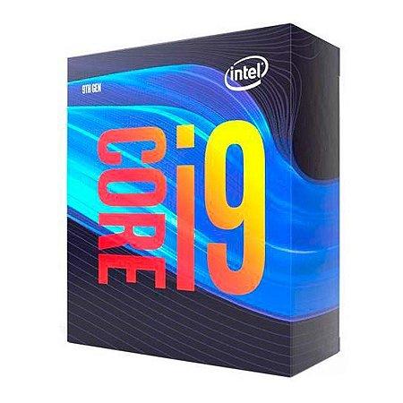 Processador Intel Core i9 9900 3.1GHz Cache 16Mb LGA 1151 9ª Ger. - BX80684I99900