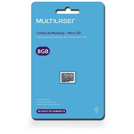 CARTAO MICRO SD 8GB CLASSE 4 MC141