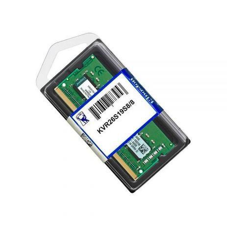 MEMORIA KINGSTON 8GB DDR42666MHZ NOTEBOOK KVR26S19S88