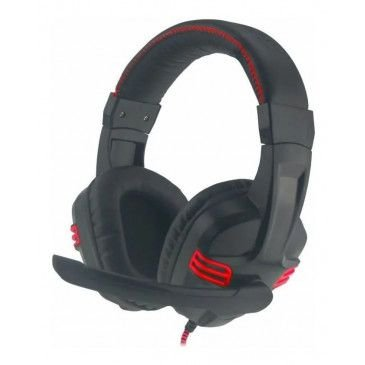 HEADSET GAMER STEREO AR-S1080 PRETO/VERM C/MICROFONE GAMING