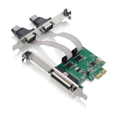 PLACA PCI EXPRESS 2 SERIAL + 1 PARALELA - GA128 - MULTILASER