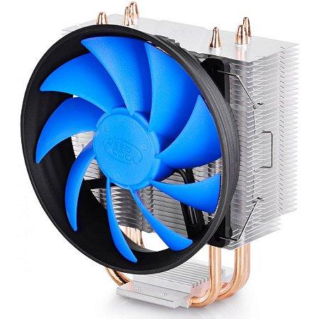Cooler para processador DeepCool Gammaxx 300, Blue 120mm, Intel-AMD, DP-MCH3-GMX300