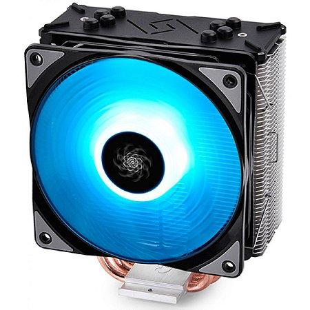 COOLER PARA PROCESSADOR DEEPCOOL GAMMAXX GTE, RGB 120MM ,INTEL-AMD, DP-MCH4-GMX-GTE