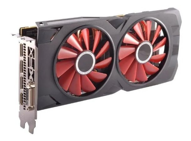 PLACA VIDEO AMD RX 570 4GB RS XXX ED OC+ DDR5 1284MHZ XFX RX-570P4DFD6