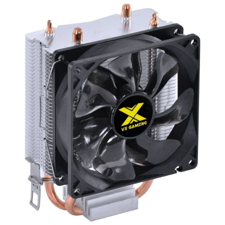 COOLER PARA PROCESSADOR VX GAMING QUASAR COMPATIVEL COM INTEL/AMD COM PWM TDP 85W PRETO - CP200 - VINIK