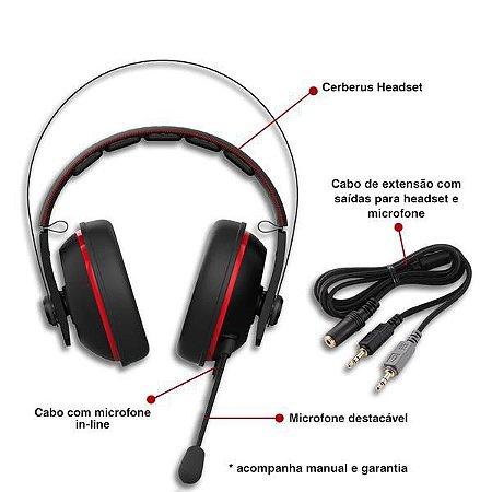 Headset Asus PC/Mobile Audio/Mic 32 Ohm (CERBERUS V2-90YH015R-B1UA00)