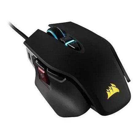 Mouse Corsair M65 RGB ELITE Optical Black 100DPI - 18.000DPI PN # CH-9309011-NA