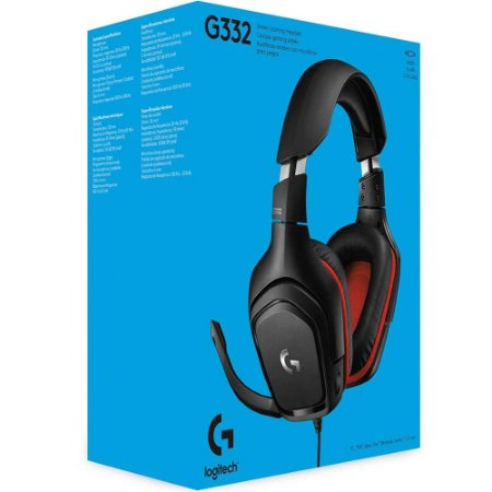 Headset Com Microfone Logitech G332