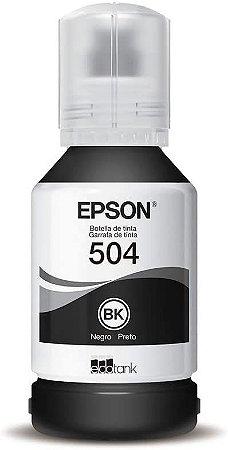 TINTA COMPATIVEL EPSON T504 BLACK