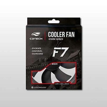 COOLER FAN F7-100BK STORM 12CM C3Technology