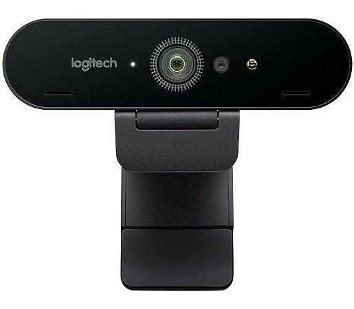 Webcam Logitech Brio 4K Ultra HD Tecnologia HDR 5x Zoom