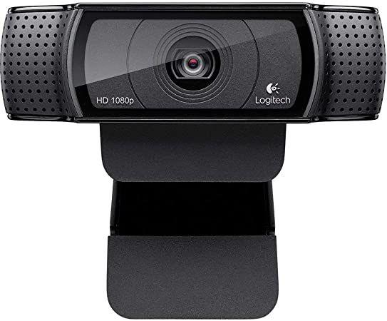 WEBCAM LOGITECH C920 FHD 1080P C/2 MICROFONES C/FOCO AUTOMATICO