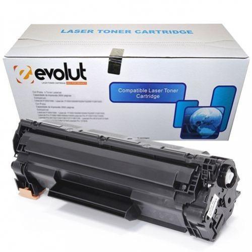 CARTUCHO DE TONER COMPATIVEL COM HP CB435/436/285 U 2K EVOLUT
