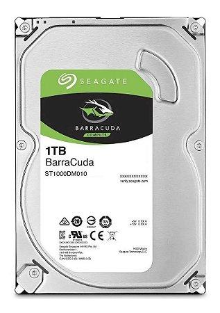 HD Interno Seagate 1TB Desktop BarraCuda SATA 64MB 3.5 7200RPM (ST1000DM010)