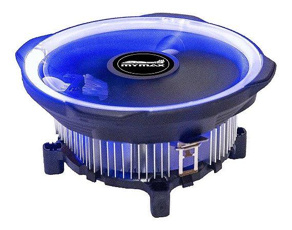 Cooler Universal para Intel e AMD Led Azul