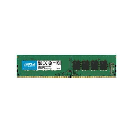 Memória Ram Crucial 4gb Ddr4 2400Mhz Cl17 - CT4G4DFS824A