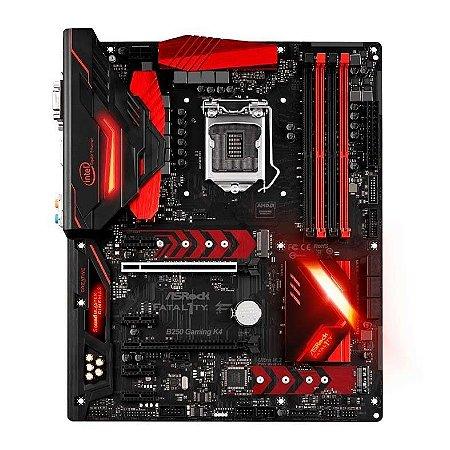 Placa Mae AsRock Fatal1ty B250 Gaming K4 Atx Ddr4 lga 1151