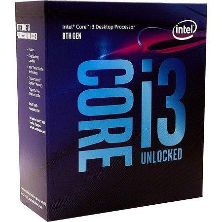 PROCESSADOR INTEL BX80684I38100 ACOMPANHA COOLER (CORE I3 3.60 GHZ)