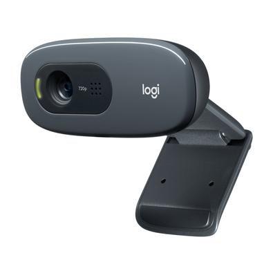 WebCam Logitech C270 HD 720P 3 Mega Preta