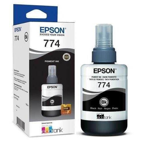 Refil de Tinta Epson T774 Preto 140ml - T774120-AL
