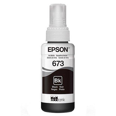 REFIL TINTA EPSON T673120 PRETO P/ L800
