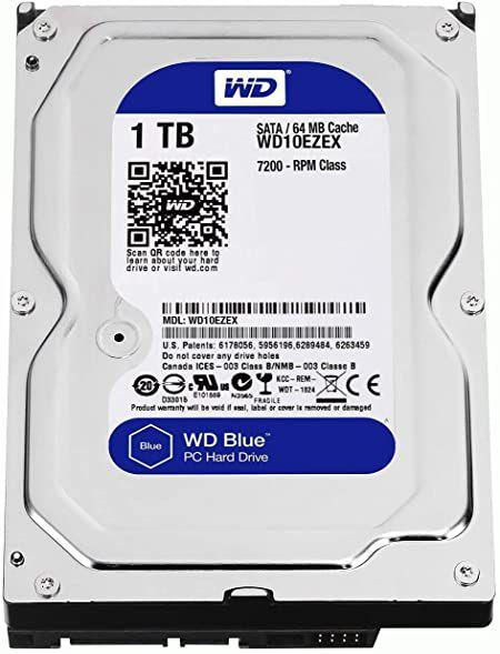 HD 1TB (1000GB) CAVIAR BLUE SATAIII 6GBS 64MB CACHE 7200RPM - WESTERN DIGITAL
