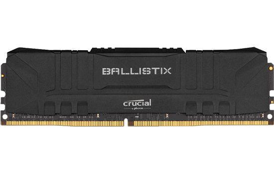 MEMORIA CRUCIAL BALLISTIX 8GB DDR4 3000 MHZ, CL15, PRETO - BL8G30C15U4B
