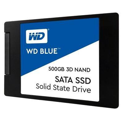 SSD WD BLUE 500GB 2,5 7MM SATA 3 WDS500G2B0A