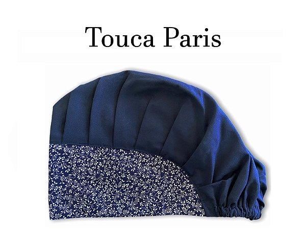 Touca Paris - Aba Floral Marinho - Ultimas peças - Troca de Coleção - Uniblu