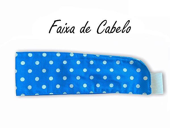 Faixa de Cabelo - Poá Azul Piscina - Uniblu