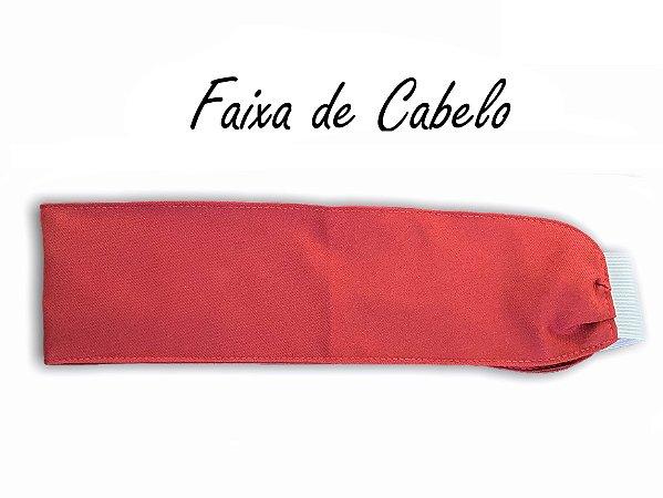 Faixa de Cabelo - Vermelha - Uniblu