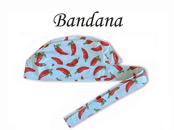 Bandana - Touca Pirata Pimenta Branca- ( unisex ) -  Uniblu