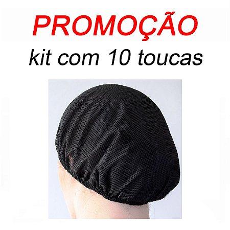TOUCA FILÓ REDE - COR  PRETA  ( unisex ) -  Uniblu