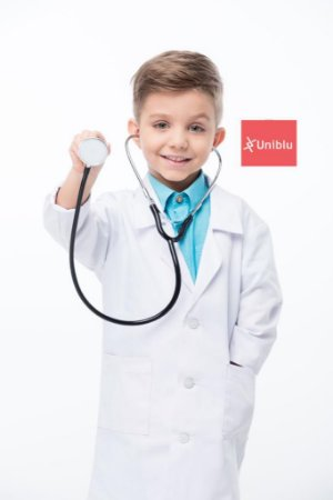 Jaleco Infantil Medicine - Branco - Unikids