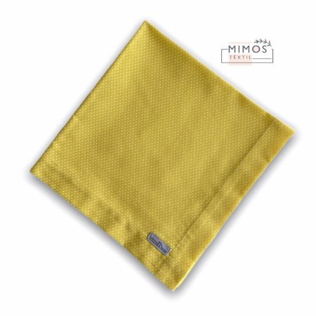 Guardanapo de Mesa - Poá Amarelo- Mimos Têxtil
